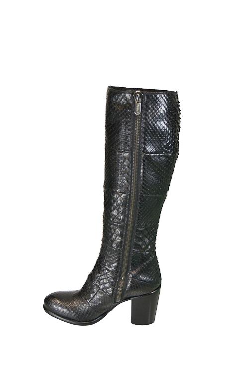 Rocco P - Pitone Black Boots-3333