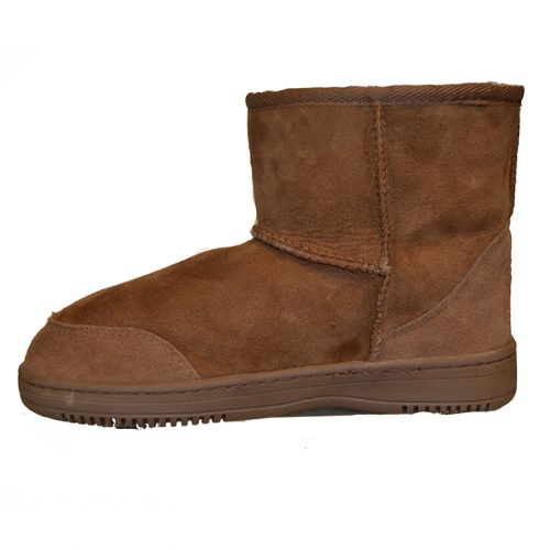 New Zealand Boots- Short cognac-0