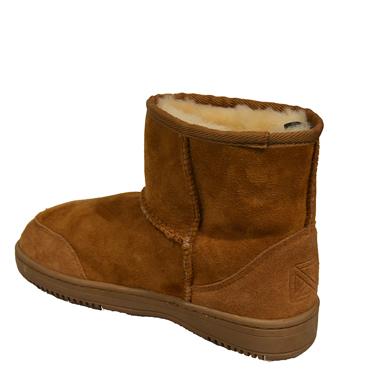 New Zealand Boots- Short cognac-3286