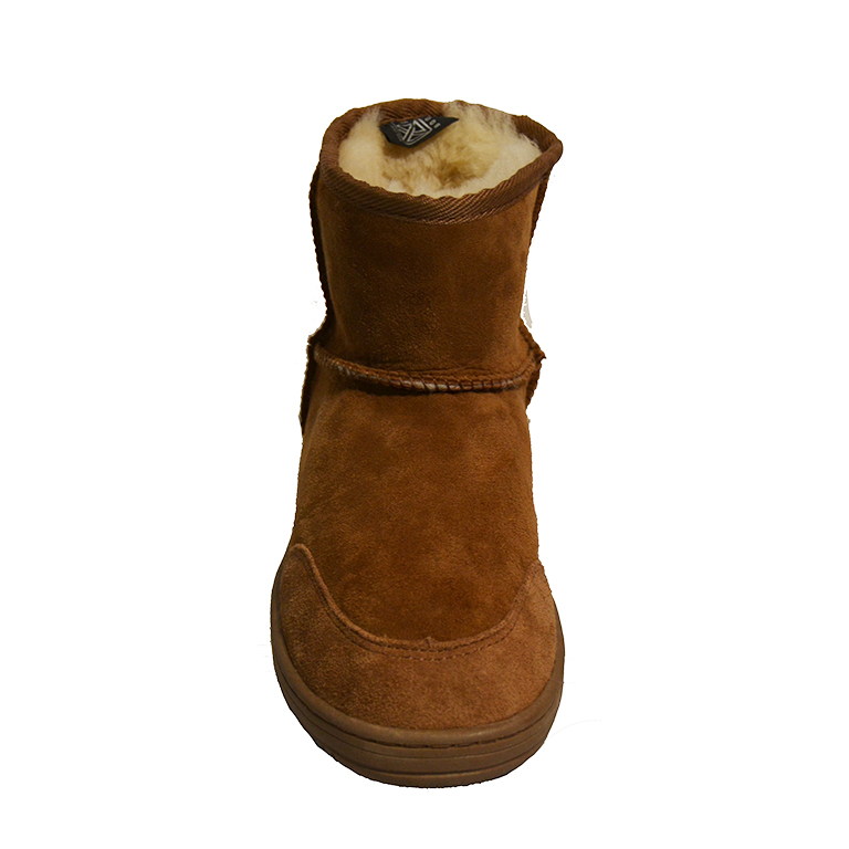 New Zealand Boots- Short cognac-3284
