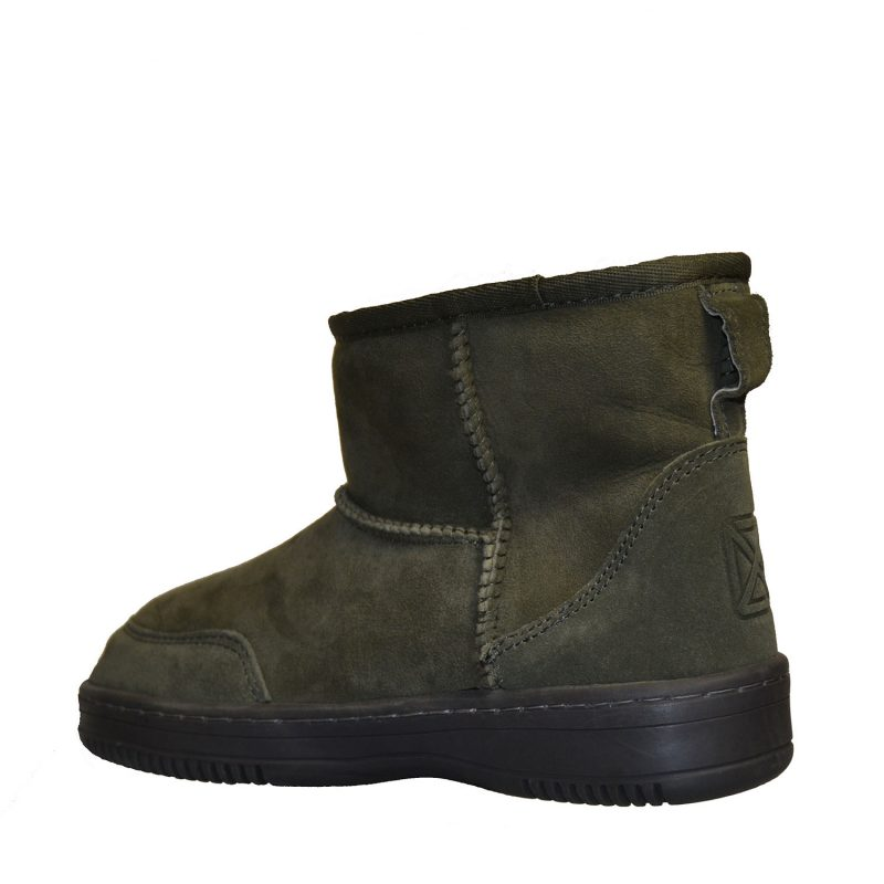 New Zealand Boots - Ultra Short Army-5407