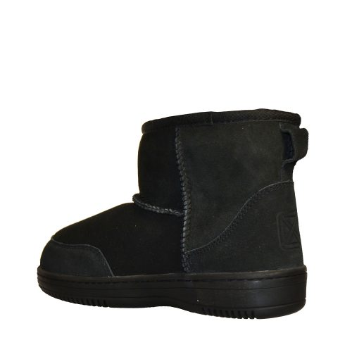 New Zealand Boots - Ultra Short Black-5413