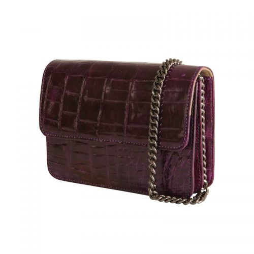 Kenzina Croco - Purple-4376