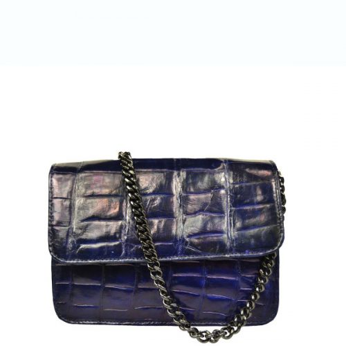 Kenzina Croco - Dark Blue-0