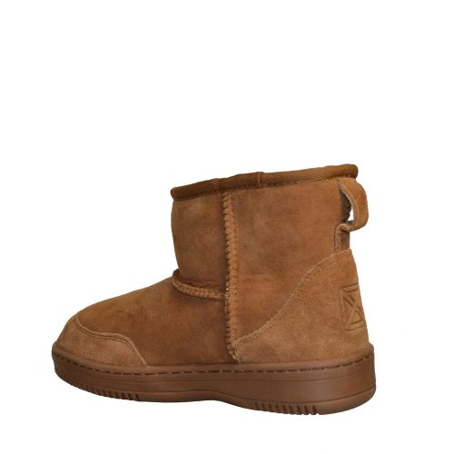 New Zealand Boots - Ultra Short Cognac-5416