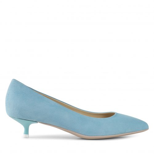 Apair - Low Heel Blue-0