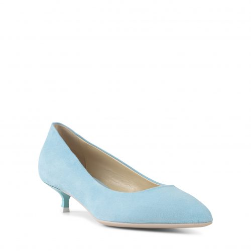 Apair - Low Heel Blue-6068
