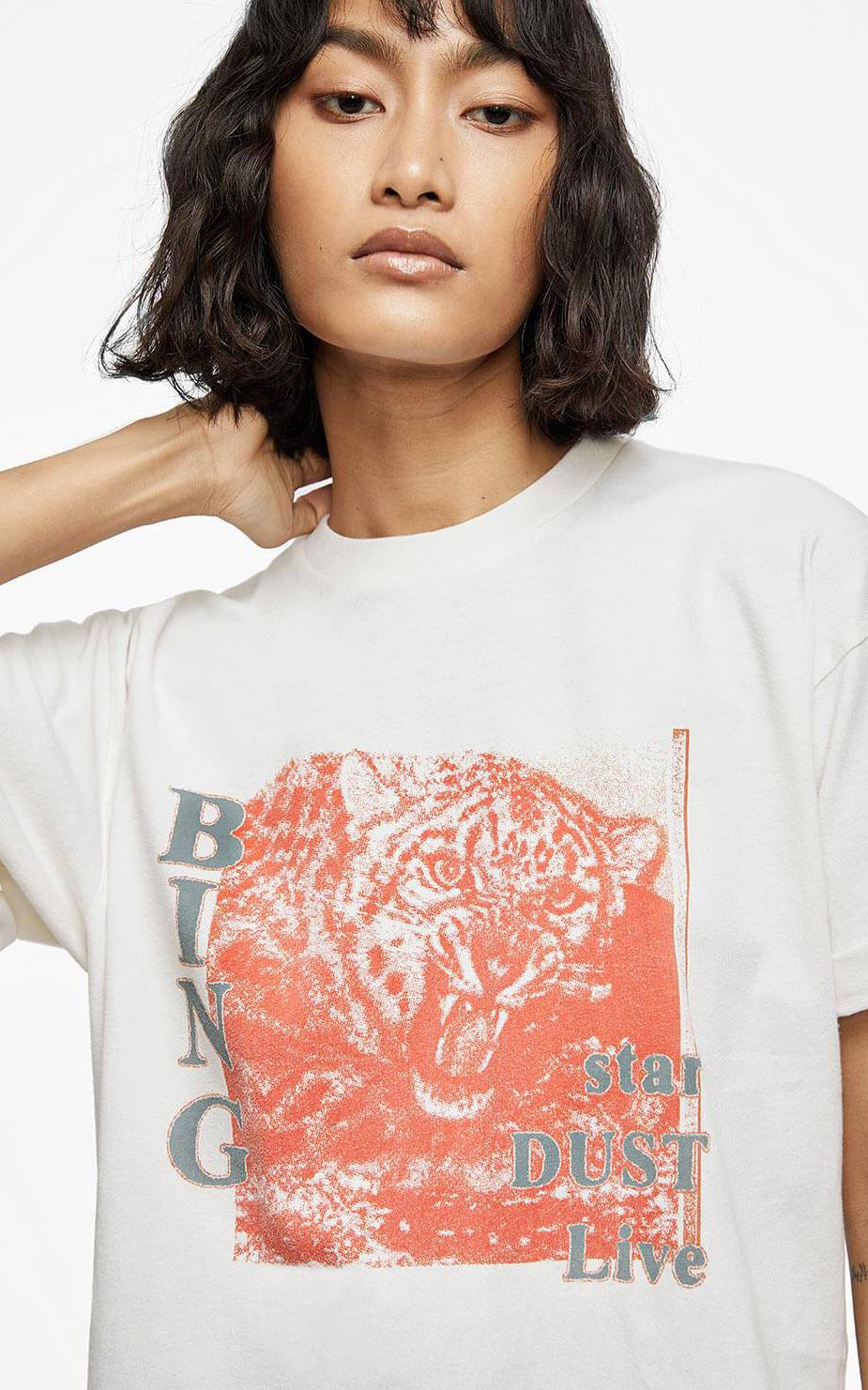 Anine Bing T Shirt Creme