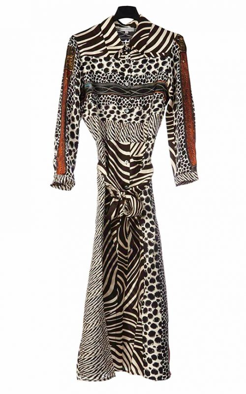 Pierre-Louis Mascia - Zebra Dress-0