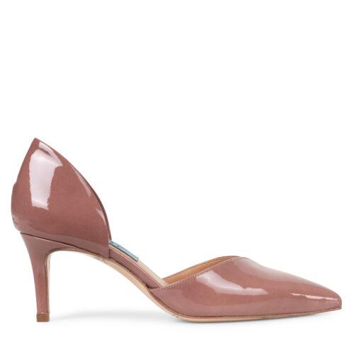 Laura flettet høj læder stilet støvle   Stiletter, Støvler, Sko