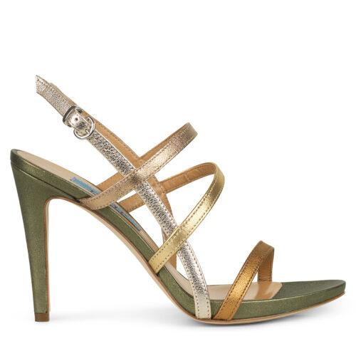 Højhælede sko : Auktionsalg kvinde Hæle Silke Komfort Kvinde