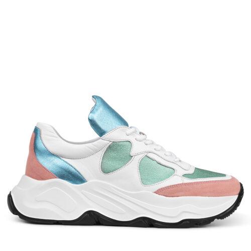 Adidas x Palace Pro Fairfax Shoes White Black Bright Cyan